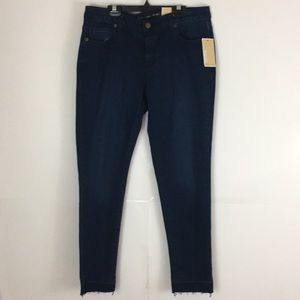 Michael Kohrs Izzy skinny mid rise jeans NWT 8